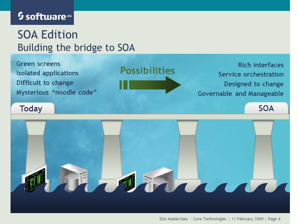 SOA Edition Building the bridge to SOA