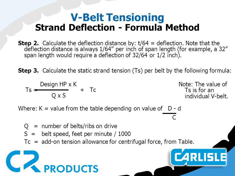 Top 10 Punto Medio Noticias | Tension Formula For Belt