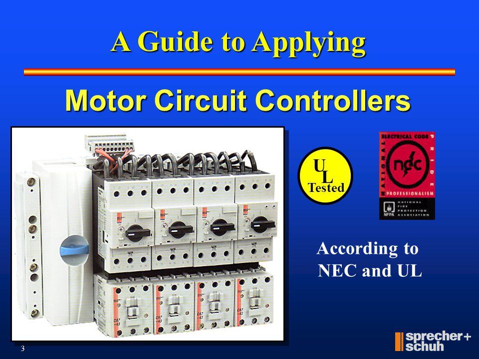 Motor Circuit Controllers