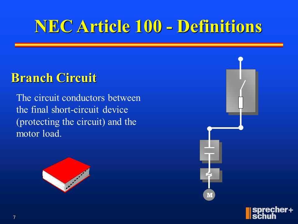 NEC Article 100 - Definitions