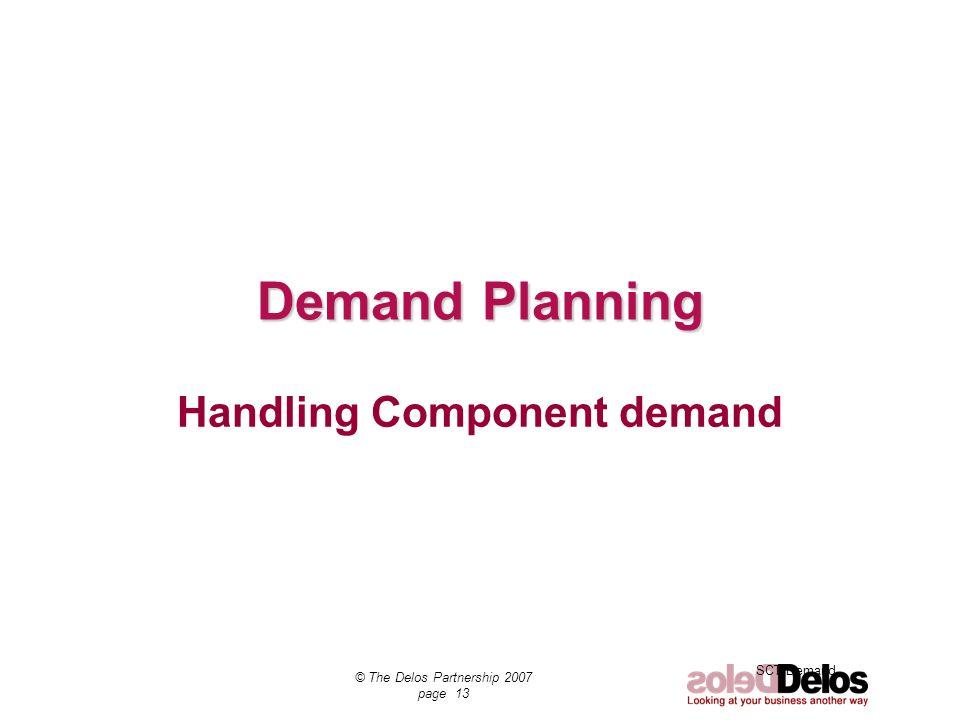 Handling Component demand
