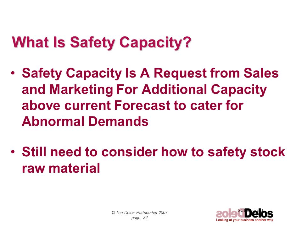 What Is Safety Capacity