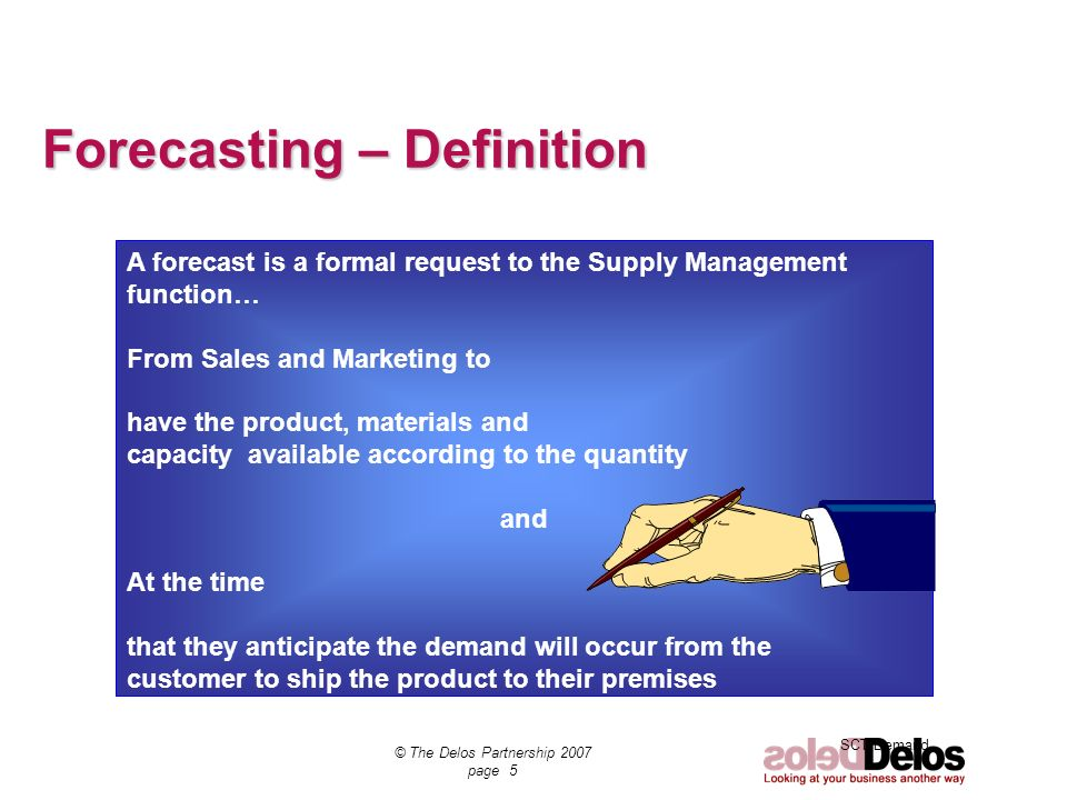 Forecasting – Definition