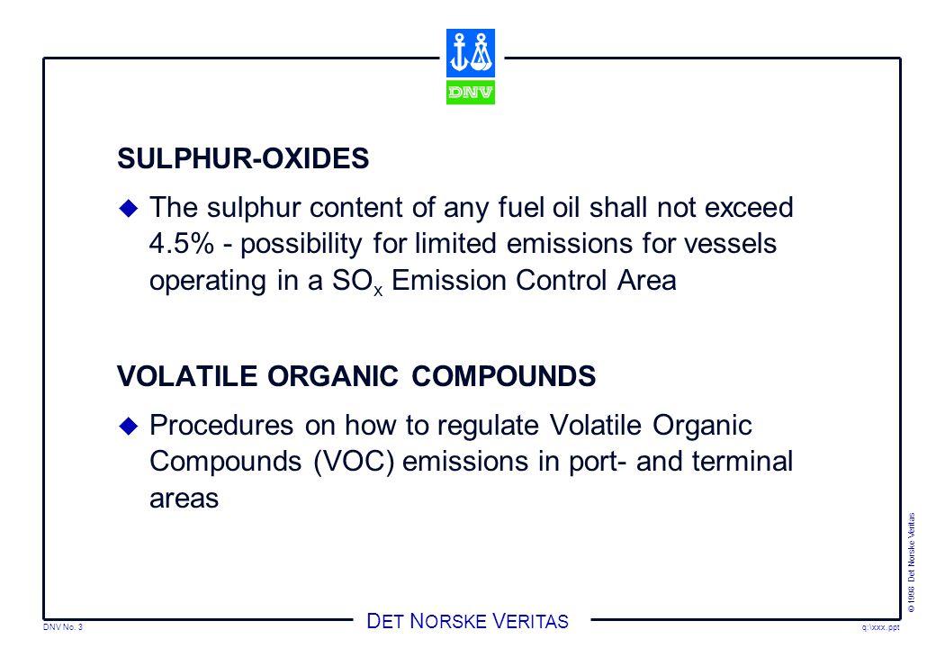 SULPHUR-OXIDES