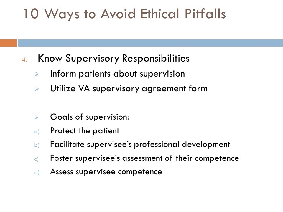 10 Ways to Avoid Ethical Pitfalls