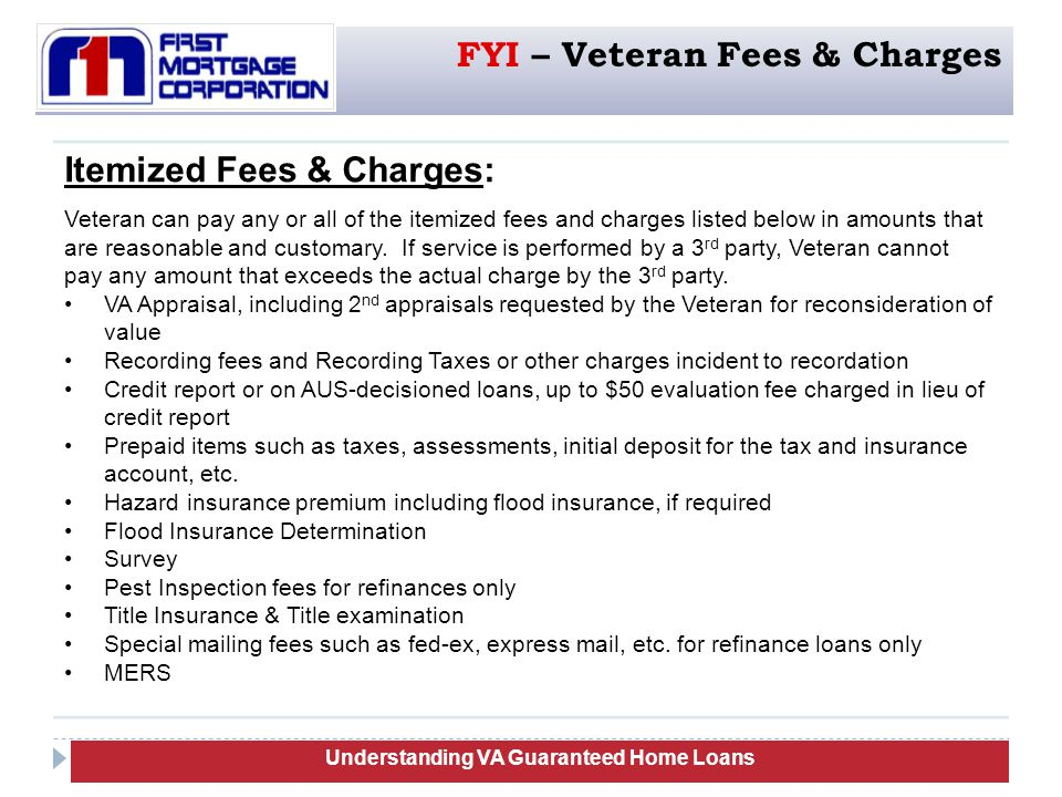 Understanding VA Guaranteed Home Loans