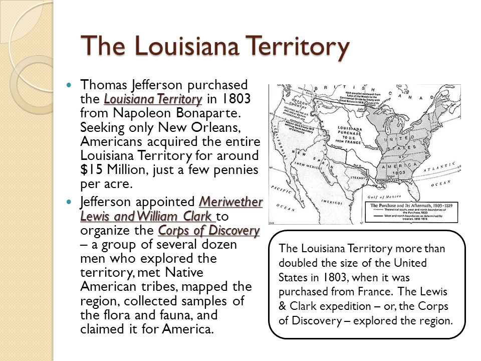 The Louisiana Territory
