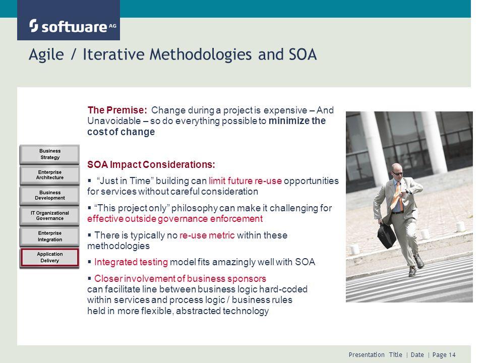 Agile / Iterative Methodologies and SOA