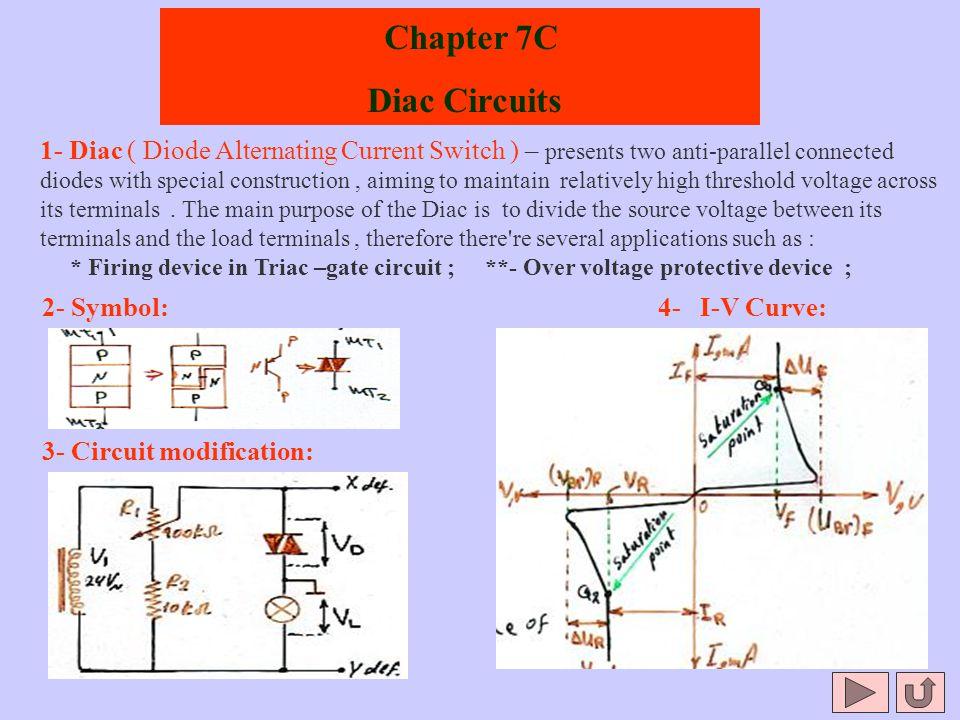 Chapter 7C Diac Circuits