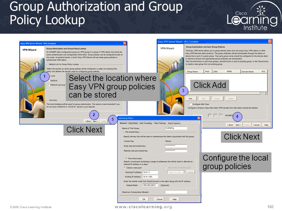 Group Authorization and Group Policy Lookup