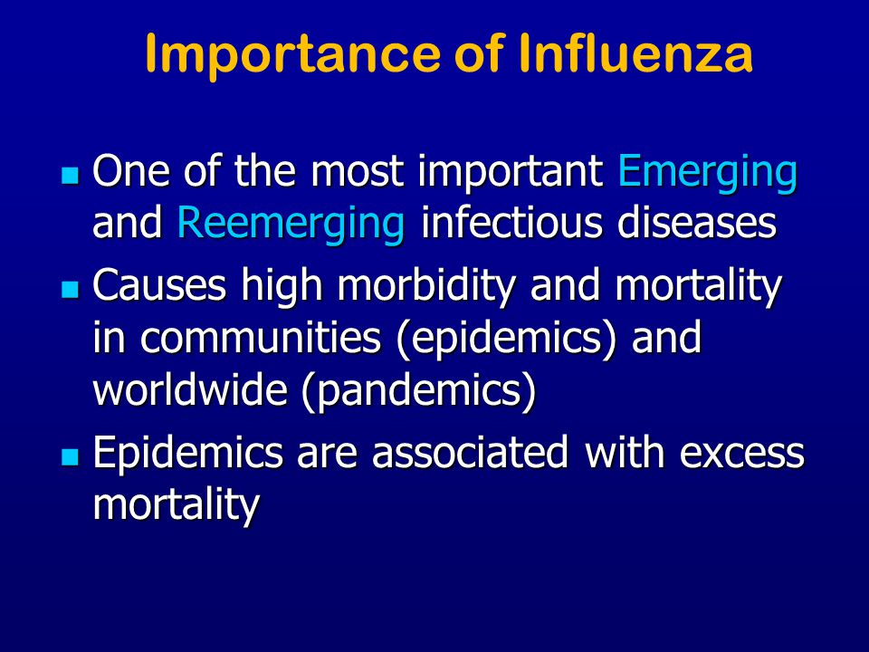 Importance of Influenza