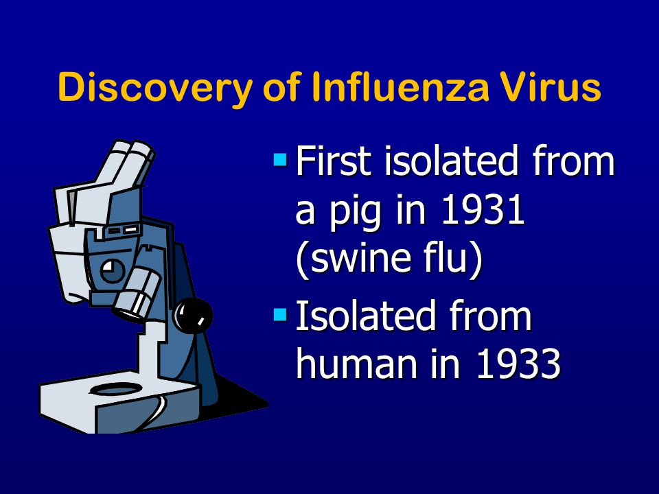 Discovery of Influenza Virus