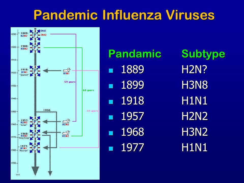 Pandemic Influenza Viruses
