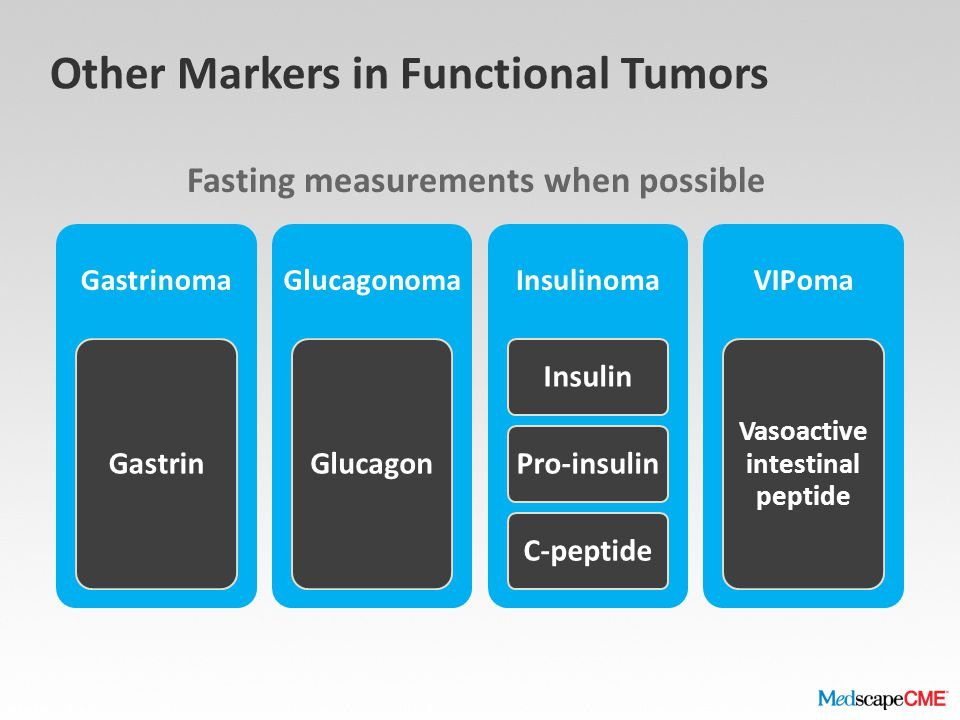 Other Markers in Functional Tumors