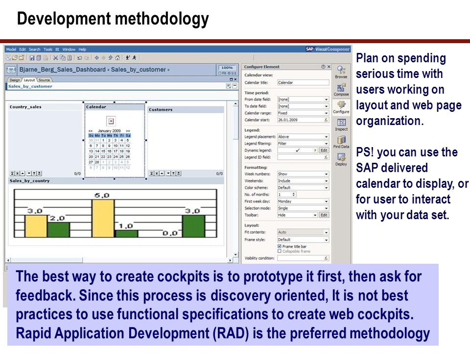 The Back-end GML code SAP Visual Composer uses the standard GUI Modeling Language (GML).