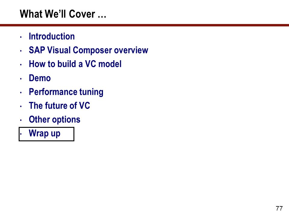 Who gets to use the SAP Visual Composer