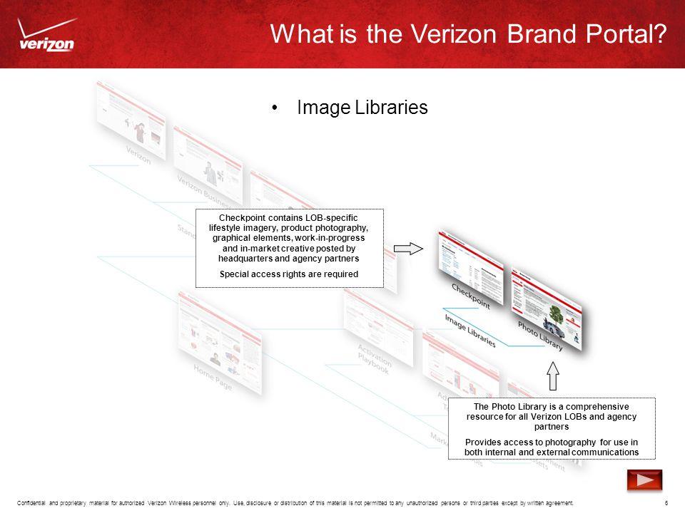 What is the Verizon Brand Portal
