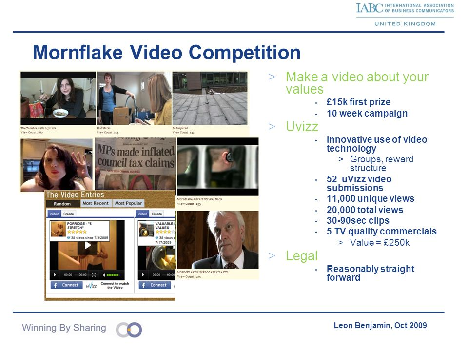 Mornflake Video Competition
