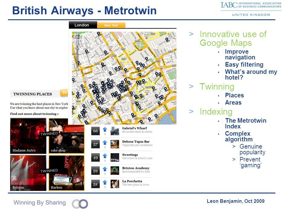 British Airways - Metrotwin