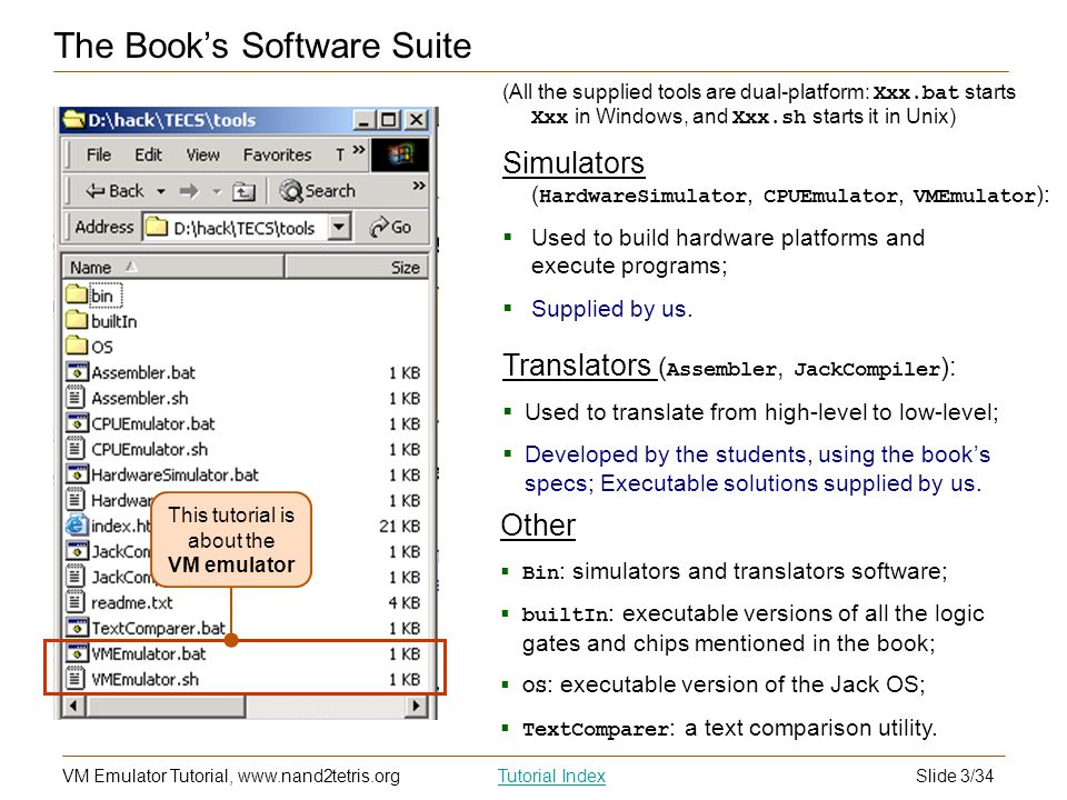 The Book's Software Suite