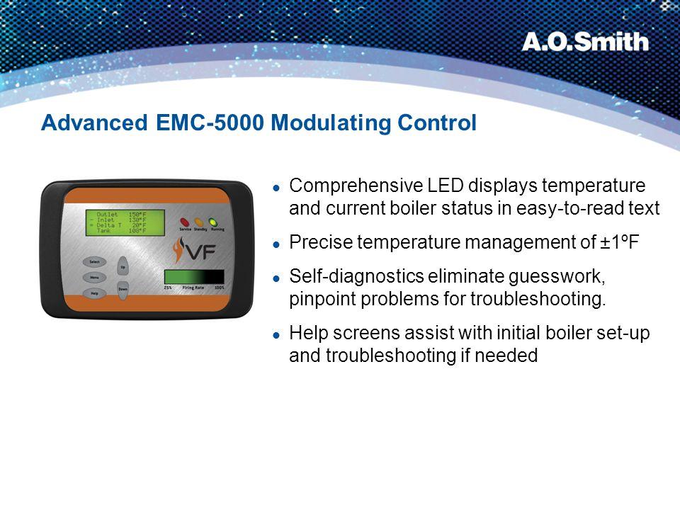Advanced EMC-5000 Modulating Control