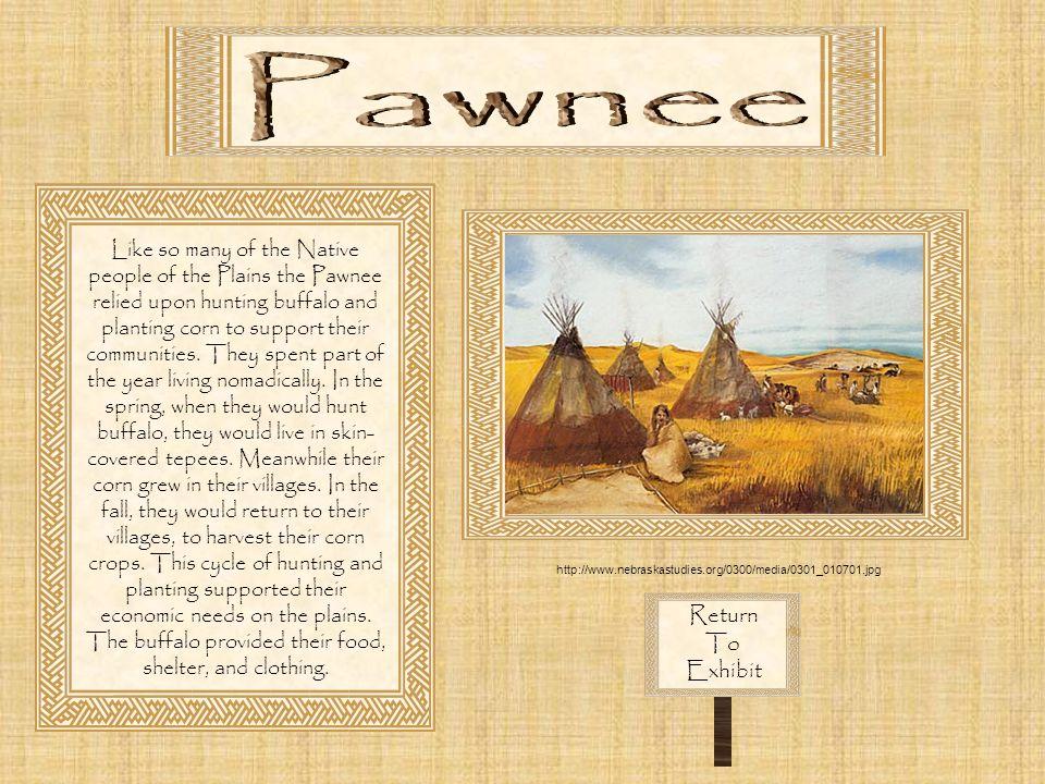 Pawnee Return To Exhibit