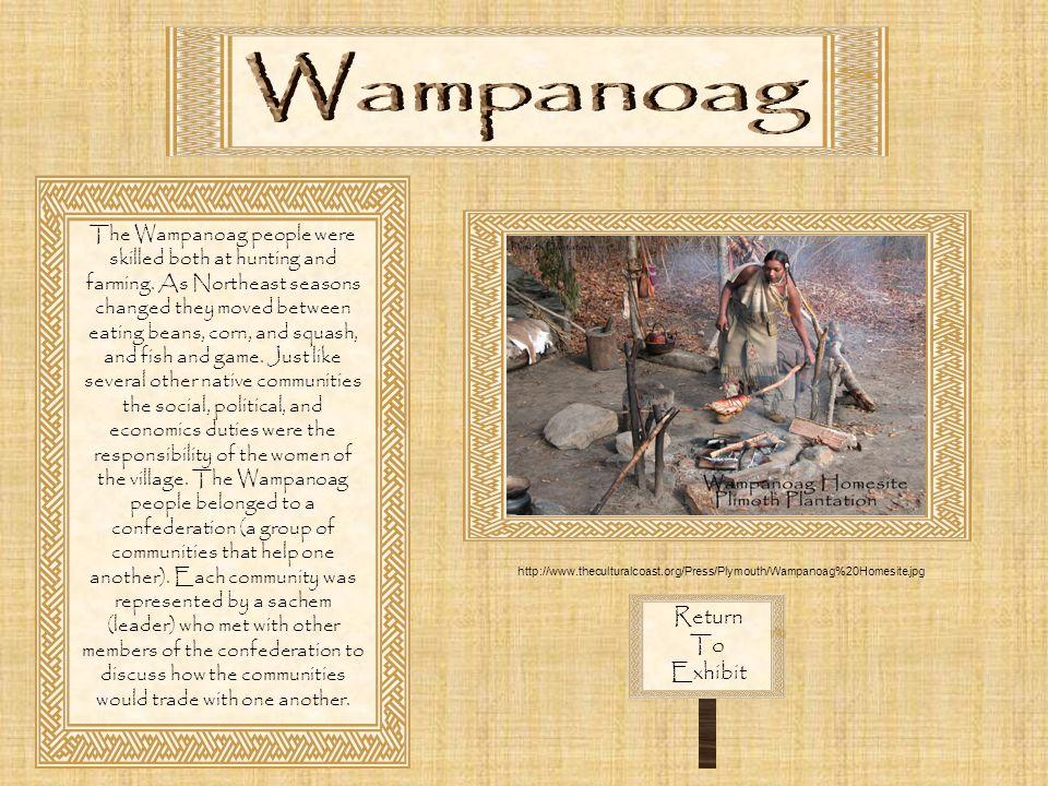Wampanoag Return To Exhibit