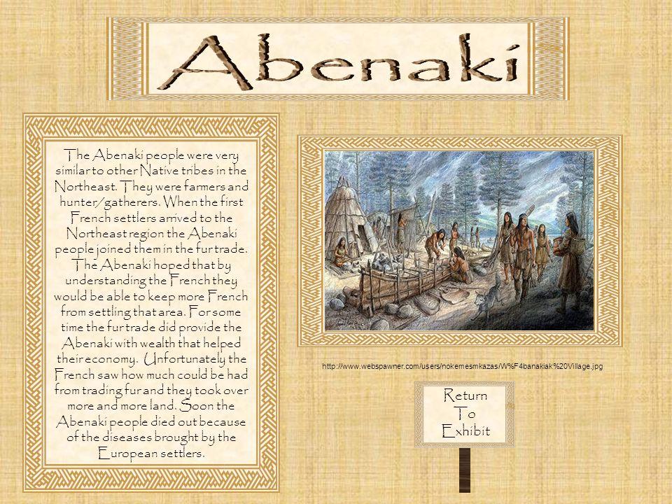 Abenaki Return To Exhibit