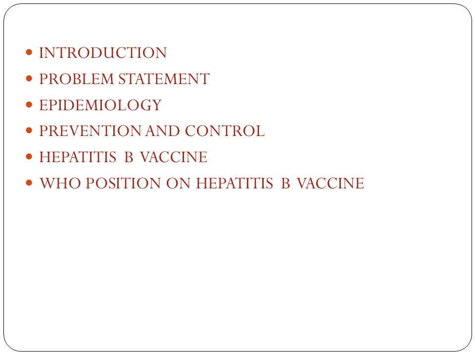 INTRODUCTION PROBLEM STATEMENT. EPIDEMIOLOGY. PREVENTION AND CONTROL.