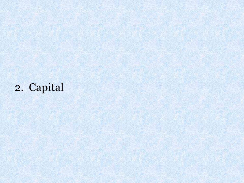 2. Capital