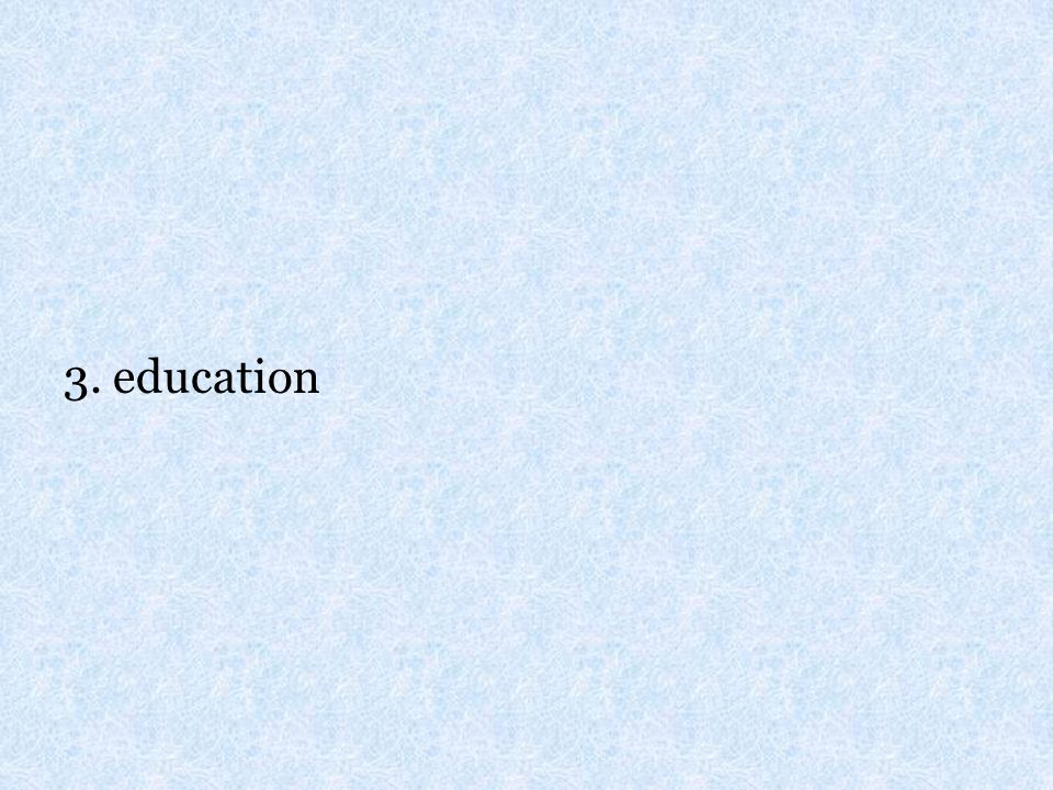 3. education