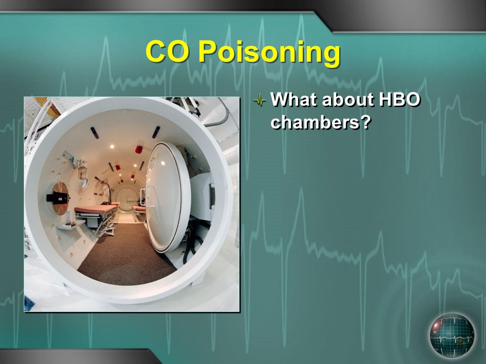 CO Poisoning What about HBO chambers