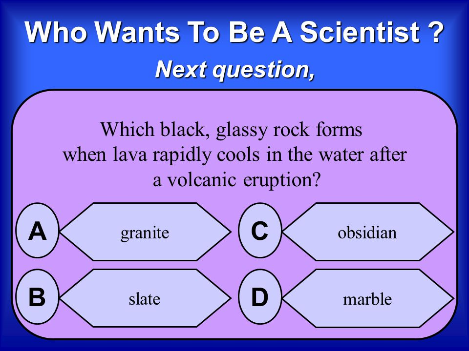 Who Wants To Be A Scientist