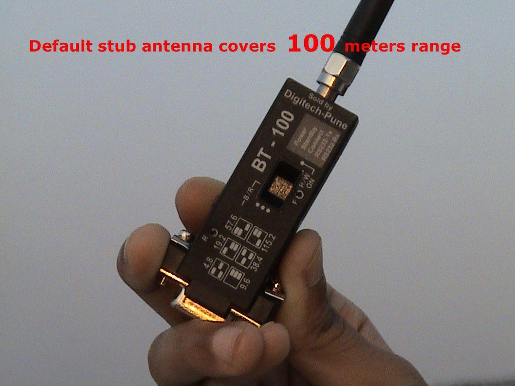 Wireless DNC Industrial wireless using RF of 2.4 GHz