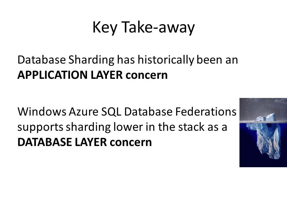 Key Take-away