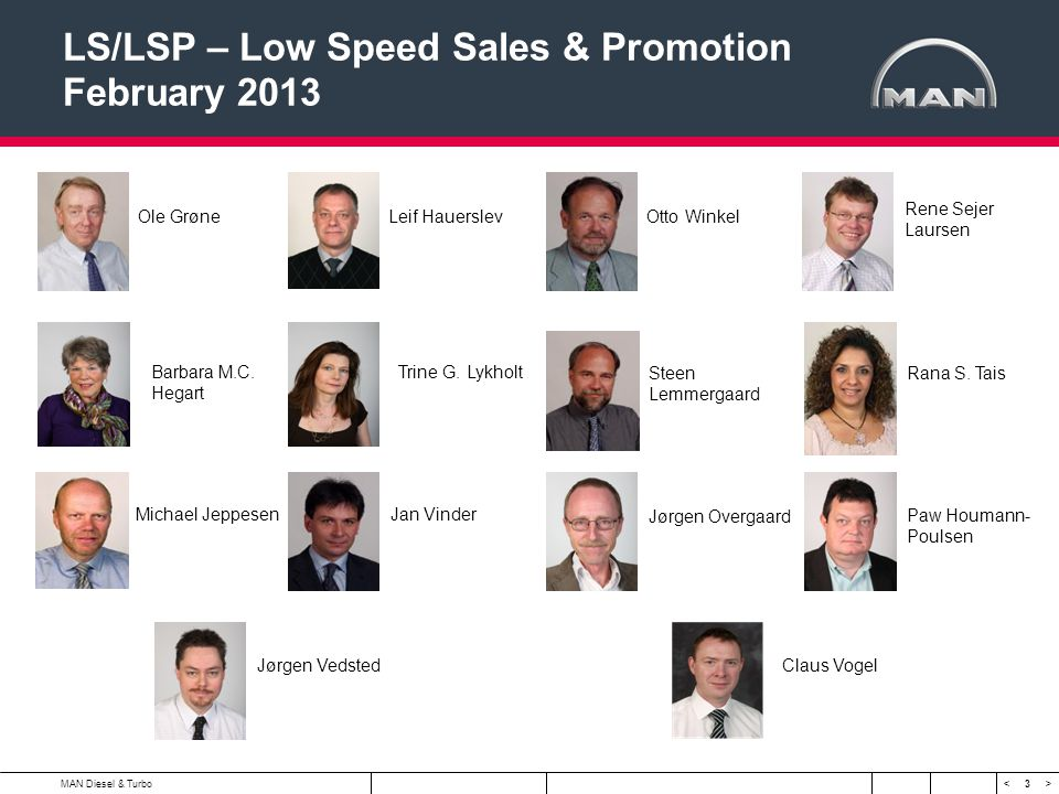 LS/LSP – Low Speed Sales & Promotion February 2013