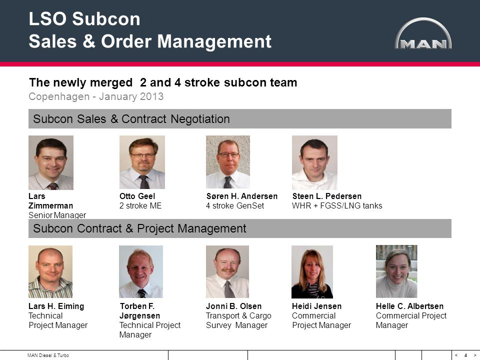 LSO Subcon Sales & Order Management