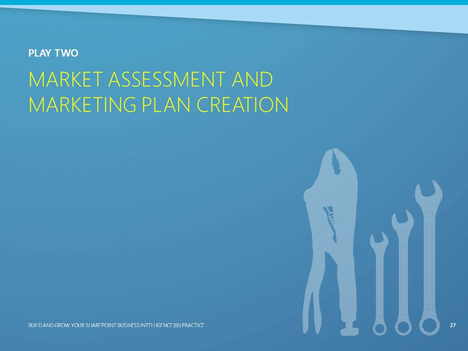 Market Assessment and Marketing Plan Creation