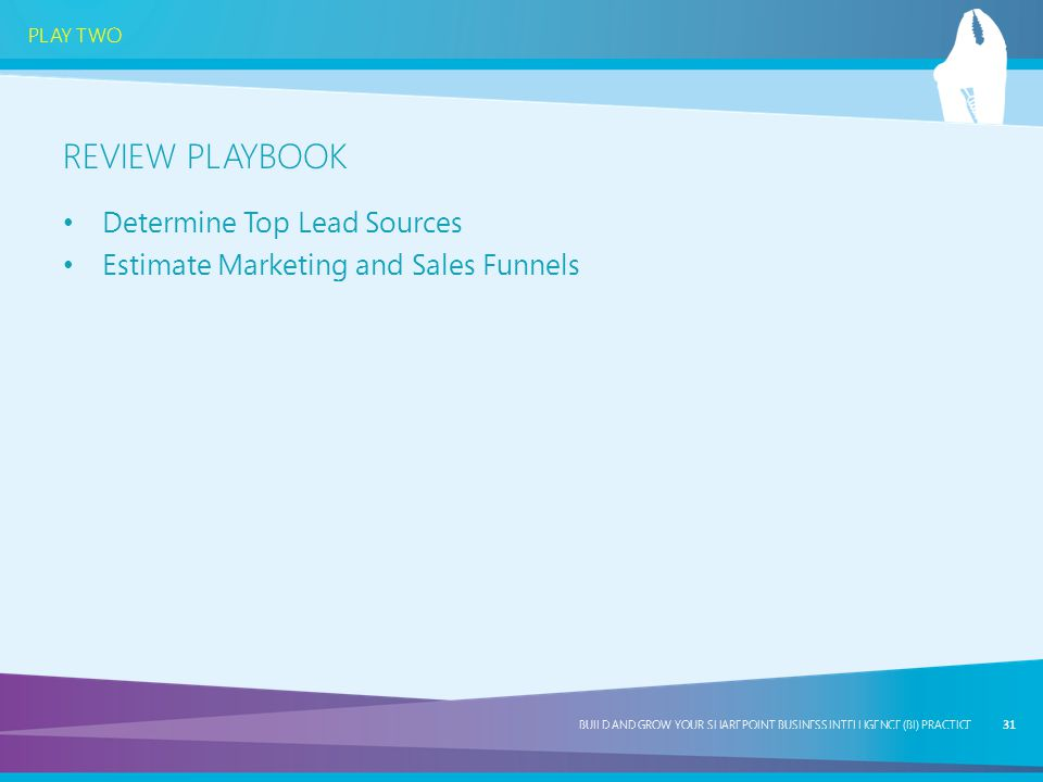 Review Playbook Determine Top Lead Sources