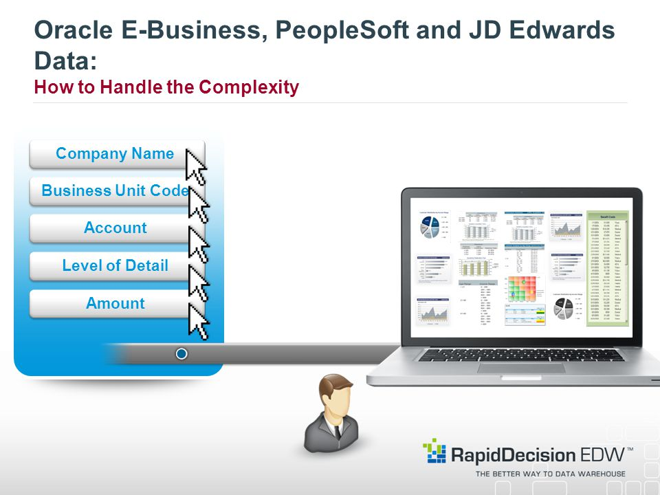 Oracle E-Business, PeopleSoft and JD Edwards Data: How to Handle the Complexity