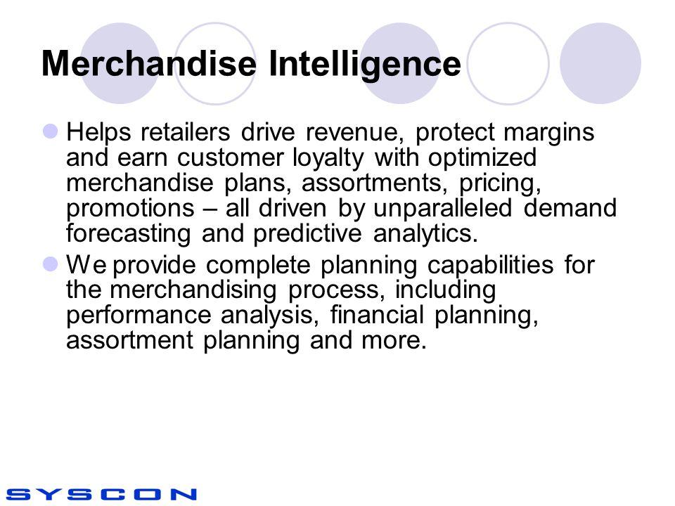 Merchandise Intelligence