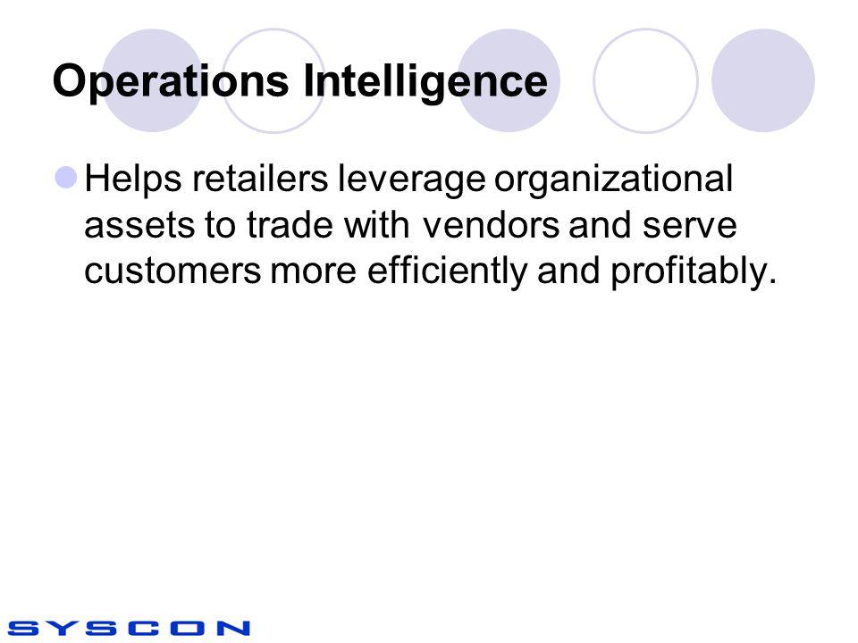 Operations Intelligence