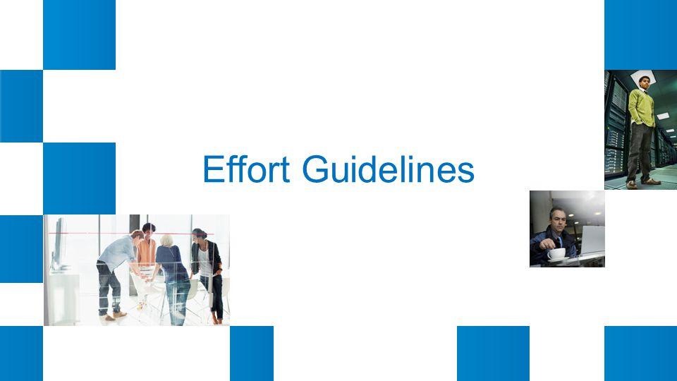 Effort Guidelines