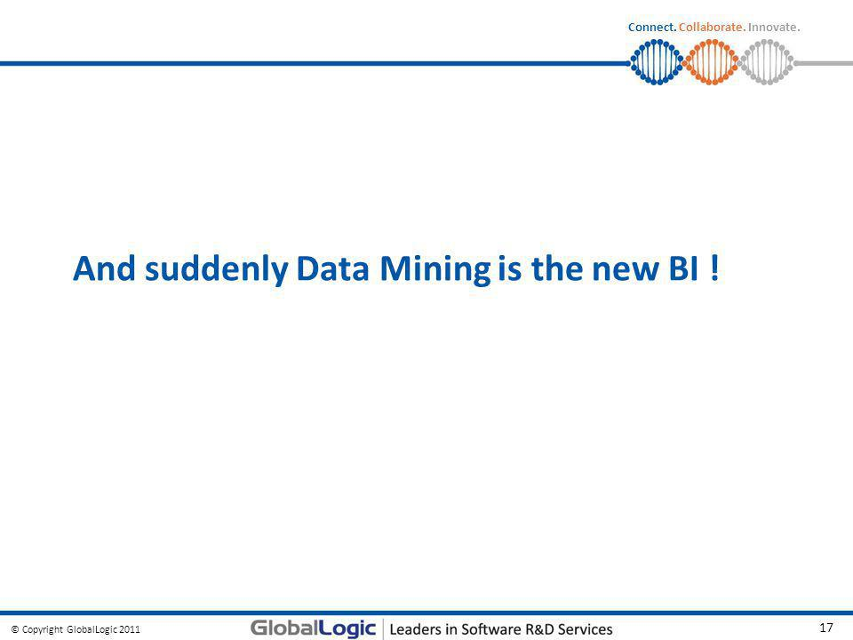 And suddenly Data Mining is the new BI !
