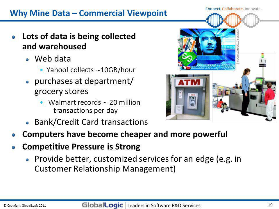 Why Mine Data – Commercial Viewpoint