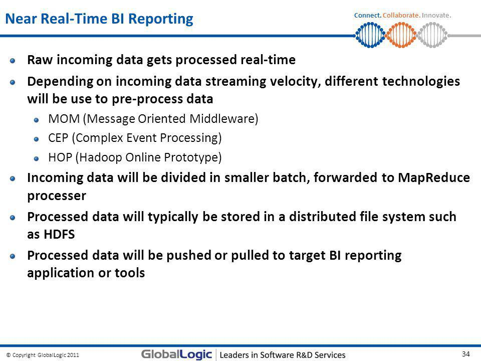 Near Real-Time BI Reporting