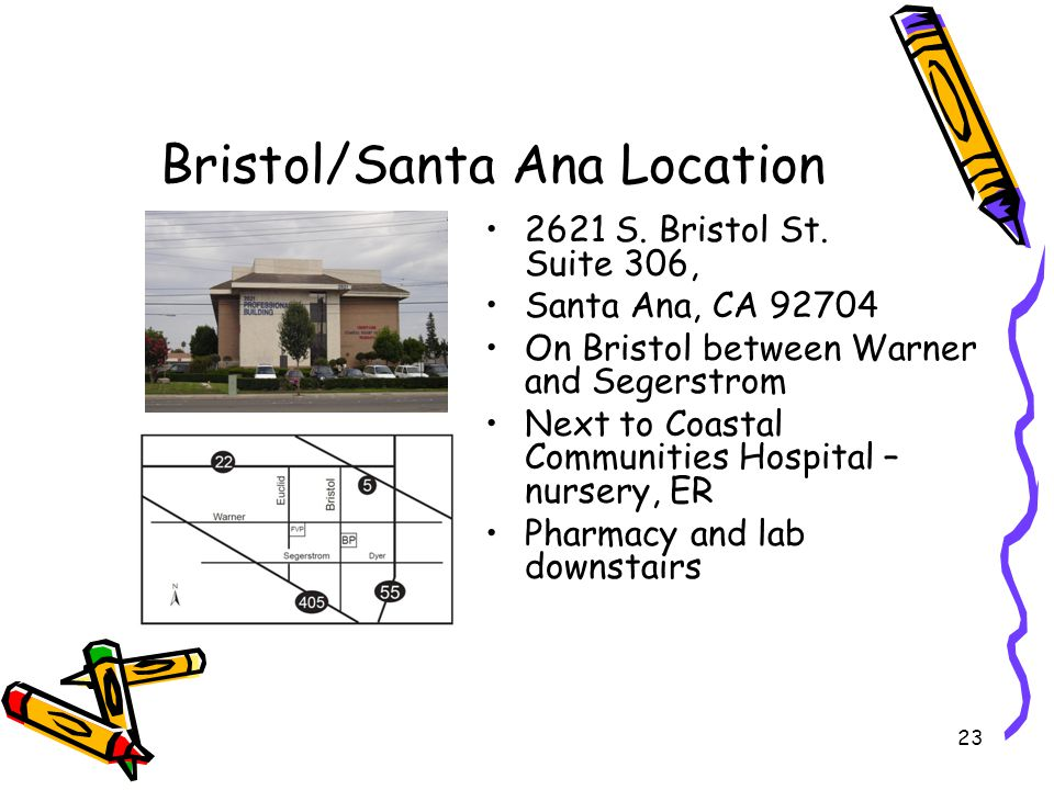 Bristol/Santa Ana Location