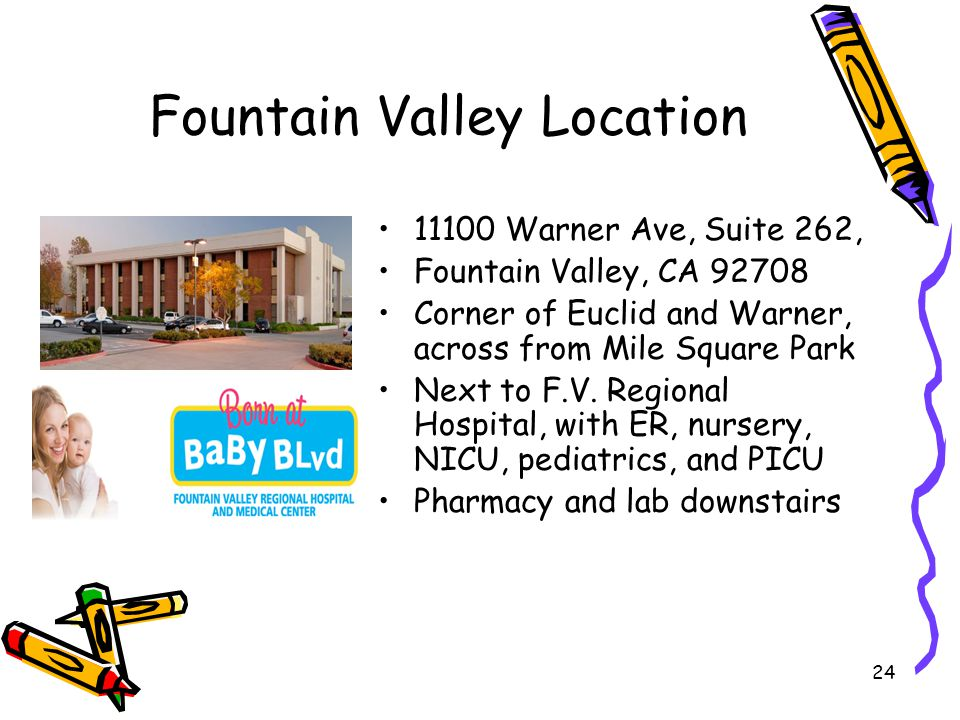 Fountain Valley Location