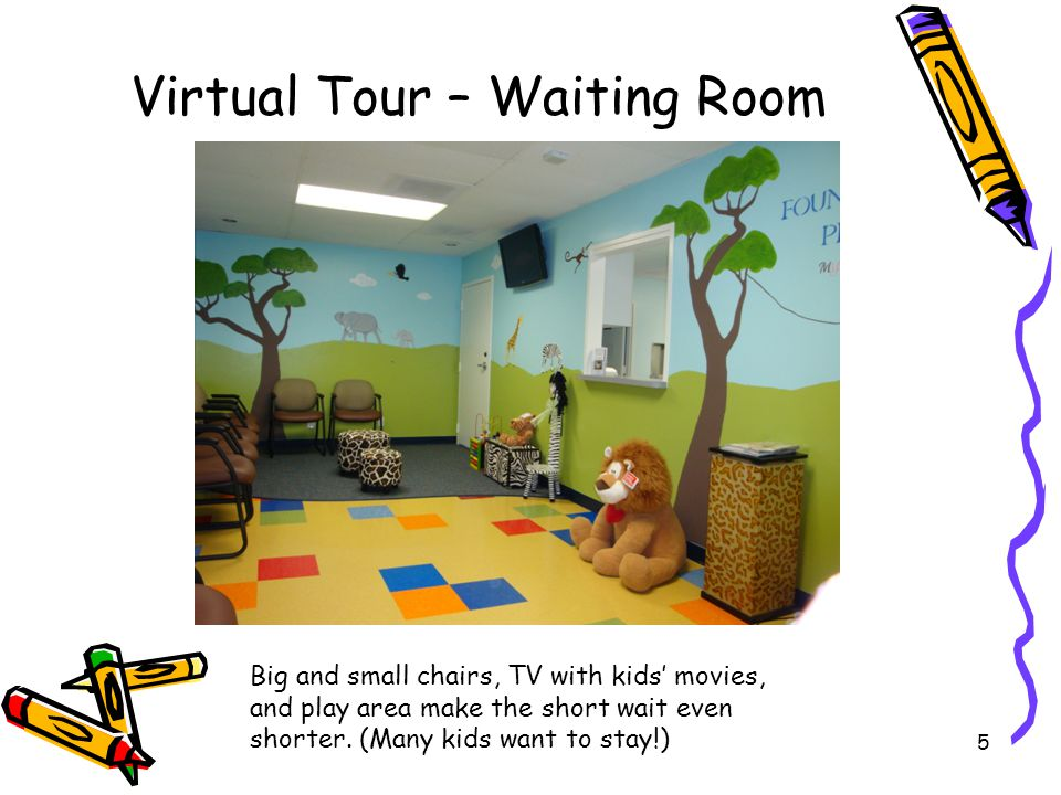 Virtual Tour – Waiting Room