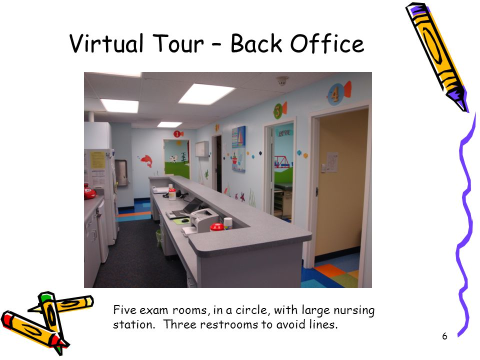 Virtual Tour – Back Office